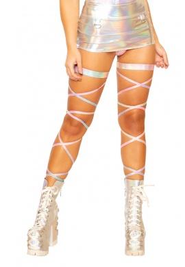 Silver Kandi Snake Leg Wraps