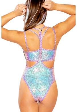 Lavender Dream Sequin Suspender Bottoms