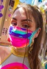 Neon Camouflage Mask with Filter