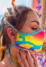 Neon Camo Face Mask with Filter