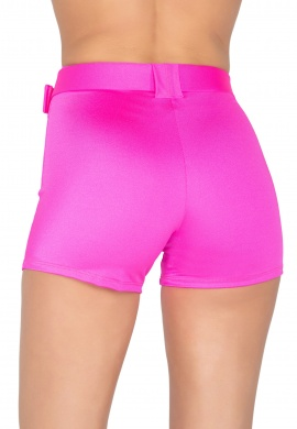 Hot Pink Shorts with Belt