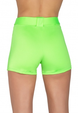 Lime Shorts with Belt