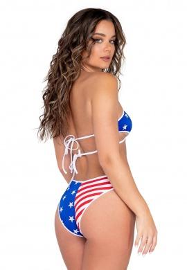American Flag Cross Shorts
