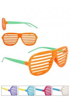 2 Color Shutter Shades