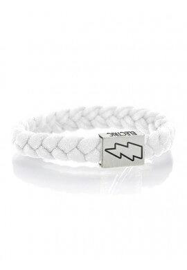 Electric White Bracelet
