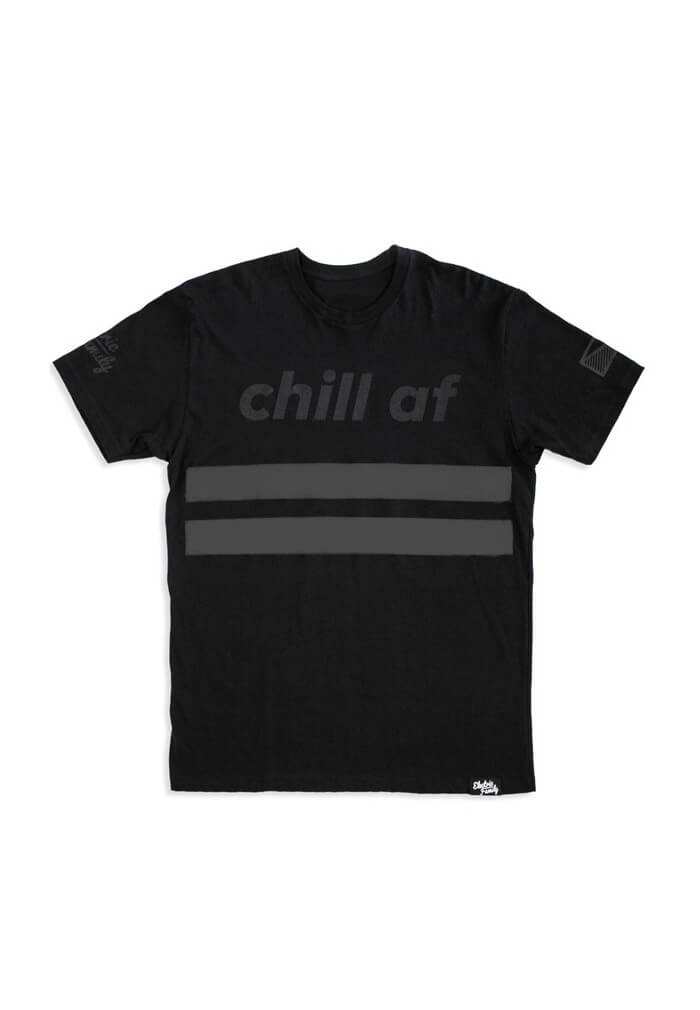 Black Chill Af T Shirt Electric Family Clothing At Raveready