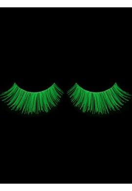 Glow-in-the-dark False Eyelashes   Glowing Rave and ...