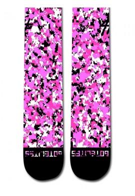 Pink Camo Socks
