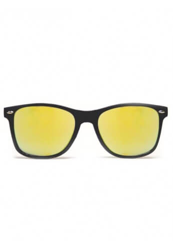 Black Gold Mirror Diffraction Glasses