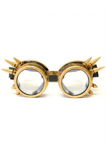 Brass Spike Diffraction Goggles