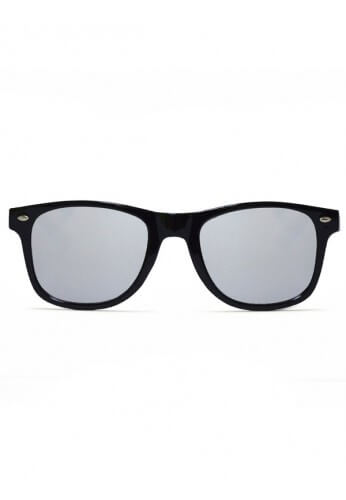 Black Wayfarer Diffraction Glasses