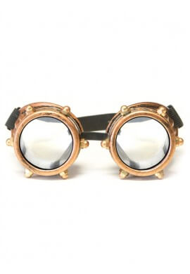 Copper Bolt Diffraction Goggles