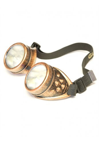 Copper Diffraction Goggles