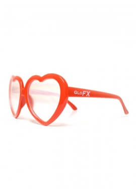 Heart Diffraction Glasses