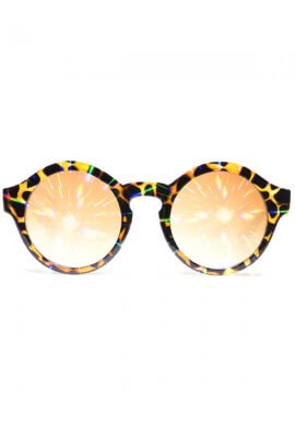 Round Tortoise Diffraction Glasses