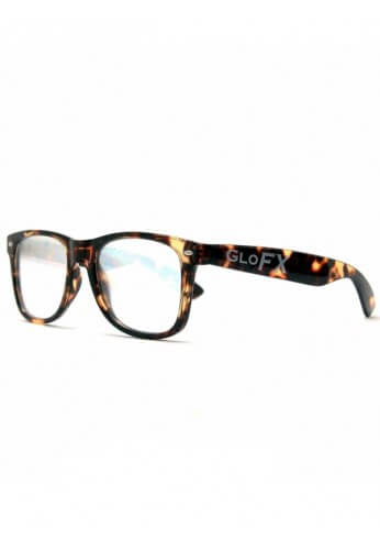 Tortoise Shell Wayfarer Diffraction Glasses