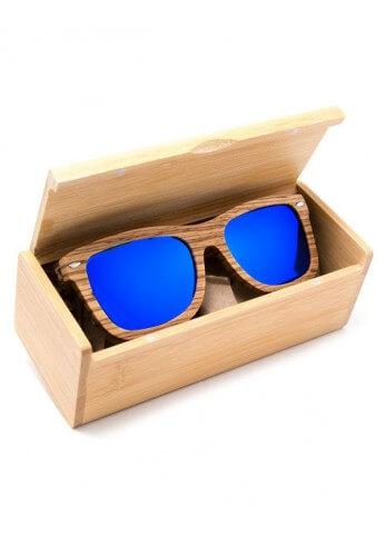 polarized zebra wood glasses festival sunglasses from raveready
