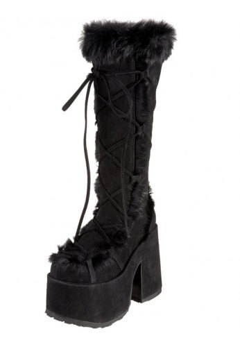 Black Demonia Camel 311 Boots