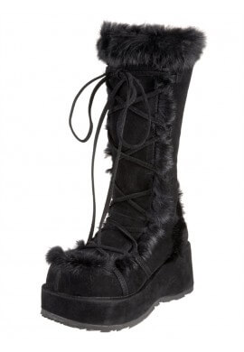 Black Cubby Boots