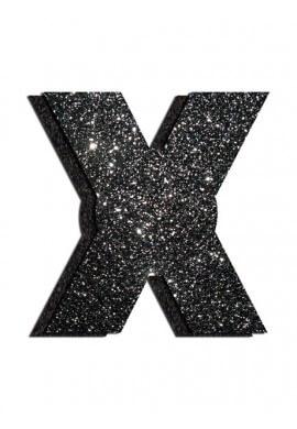 Black Glitter X Pastease