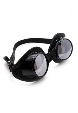 Black Aluminum Goggles