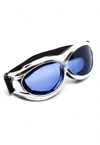 Chrome Padded Goggles