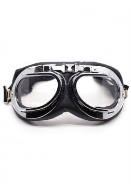 Clear Motorcycle Goggles