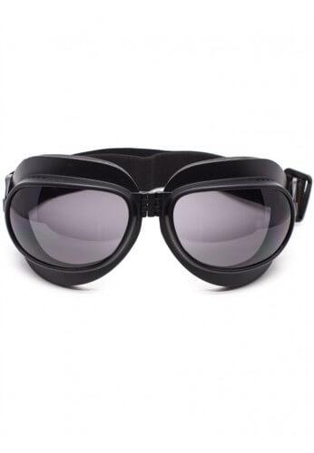 Foldable Flat Black Goggles