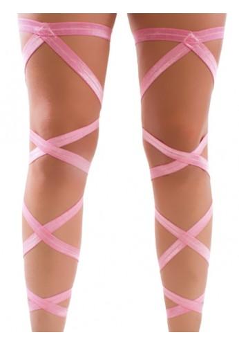 Baby Pink Leg Wraps