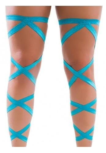 Turquoise Leg Wraps