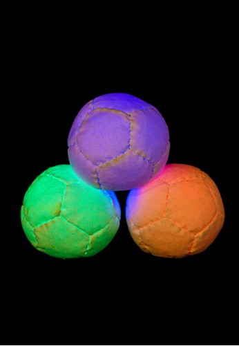 Multicolored 12 Panel LED Juggling Ball