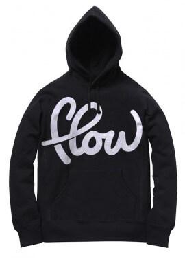 White Flow Hoodie