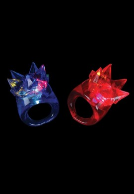 LED Spike Ring