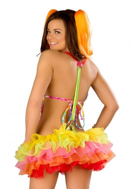 Rainbow Suspender TuTu