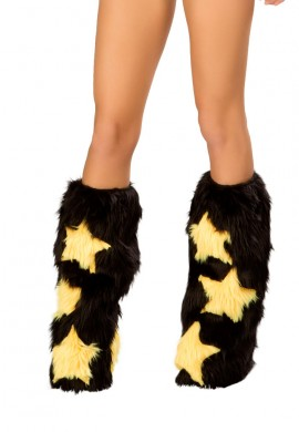 Black and Yellow Stars Fluffies