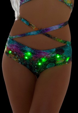 Jade Trance Light Up Shorts
