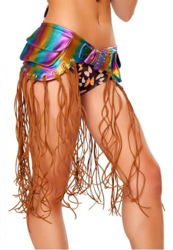 Rainbow Foil Fringe Pack