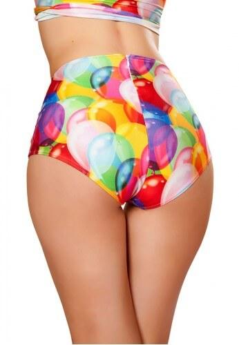 Balloons High Waist Shorts