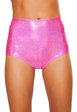 Pink Twinkle High Waist Shorts
