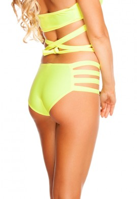 Yellow Strappy Bottoms