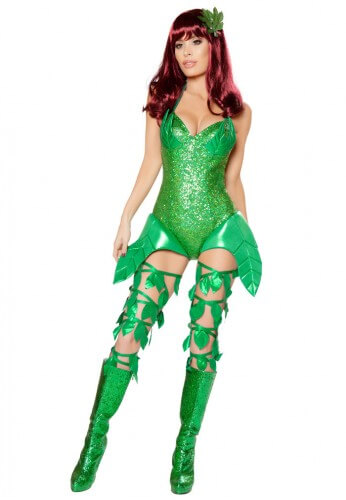 Poison Villain Costume