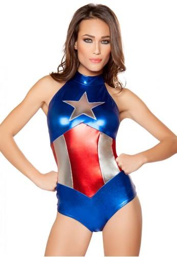 Enhanced American Hero Romper