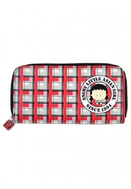 Angry Little Asian Girl Wallet