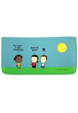 Angry Little Girls Back Off Wallet