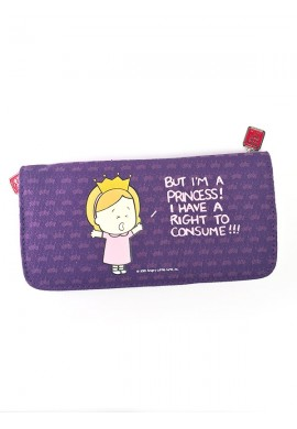 Angry Little Girls Princess Wallet