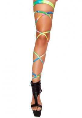 Tie Dye Leg Wraps