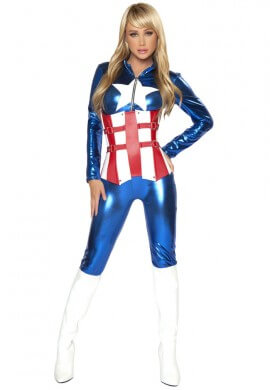 American Hero Costume