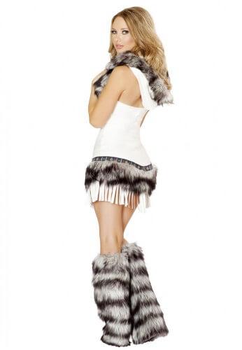 White Wolf Costume