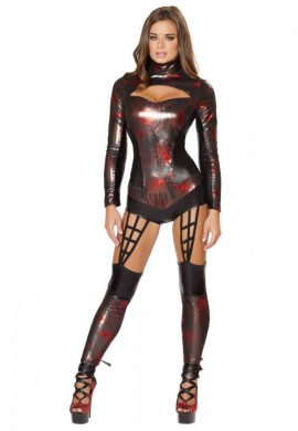 Web Spinner Costume Romper
