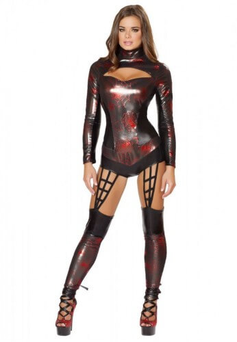 Web Spinner Costume Romper